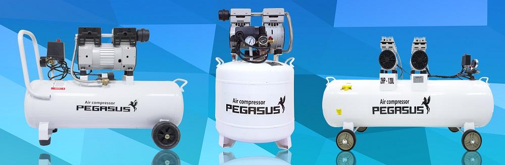 máy nén khí pegasus không dầu